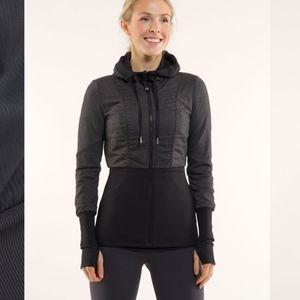 """{Lululemon} """"Dance Studio"""" reversible jacket"""